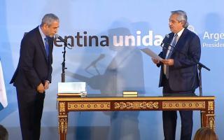 Juró el ministro Ferraresi en Desarrollo Territorial y Hábitat