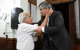 Ambos dirigentes en un encuentro pasado