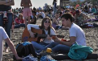 27º Fiesta Nacional de la Primavera y del Estudiante en Monte Hermoso