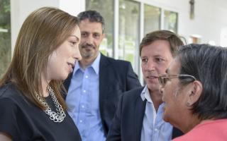 Vidal visitó las instalaciones en San Miguel.