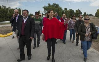 Vidal de recorrida por la sexta: Estuvo en Coronel Suárez, Coronel Pringles y Benito Juárez