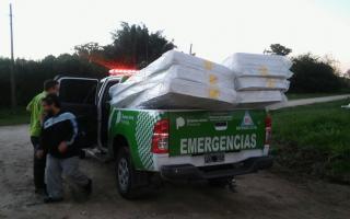 Provincia informó acciones en el marco de la asistencia por el temporal de los últimos días