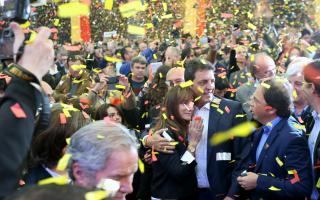 El Frente Renovador festejó en Almirante Brown. Foto Prensa FR