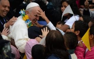 El Papa estuvo en Varginha, la favela más peligrosa de Rio.