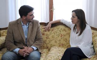 Galli salió a apoyar públicamente la reelección de Vidal.