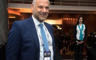 Aliviado: El CEO de Noblex celebró la clasificación argentina.