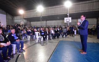 La Plata: Garro creó un fondo para apoyar y asistir a los clubes de barrio