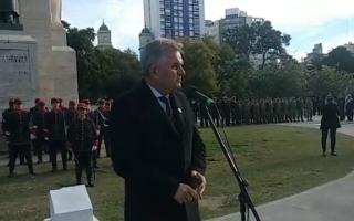 """25 de mayo en Bahía Blanca: """"Quizás la sabiduría del diálogo es lo que nos esté faltando"""", dijo Gay"""