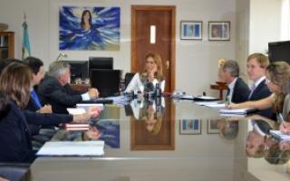 La Ministra Débora Giorgi se reunió con directivos de Gestamp, General Motors, Fiat , Mercedes Benz y Peugeot-Citroën
