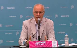 El funcionario de Kicillof aseguró que las dosis para mayores de 60 años están por llegar