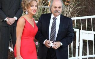 Alejandro Granados asistió con su Esposa, Dulce Visconti.