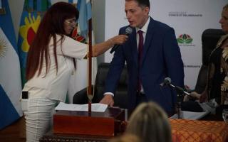 Gray asumió su cuarto mandato como intendente de Esteban Echeverría