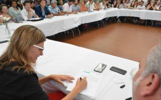 Primera reunión del año del Consejo Provincial de Vivienda y Hábitat