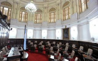 Concejo deliberante de La Plata.
