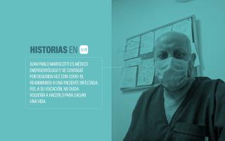 La historia de Juan Pablo Mariscotti, otro héroe sin capa.