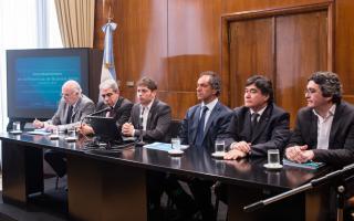 Kicillof anunció asistencia financiera e impositiva para productores de la provincia.