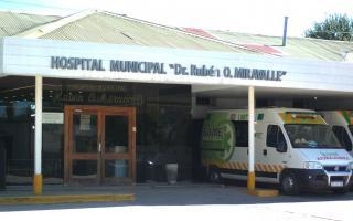 Se encontraba internado en el Hospital Municipal