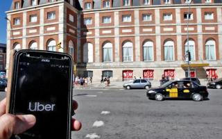 Los taxistas pidieron que se encrudezcan las medidas contra Uber en Mar del Plata. Foto: Prensa