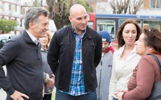 Martiniano se mostró agradecido con Macri y Vidal.