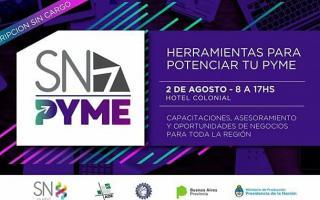 SN PYME: Un evento que ofrece capacitaciones, asesoramiento y oportunidades de negocios para las pymes de toda la región.