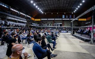 El acto se realizó en Olavarría.
