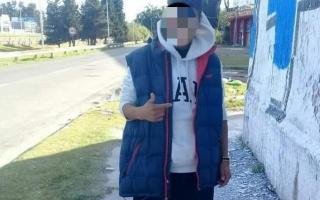 Detuvieron al autor del incendio en la escuela secundaria N°36 y primaria N°32. Foto: Prensa