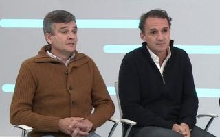 Juan Zabaleta (Hurlingham) y Gabriel Katopodis (San Martín), complicados