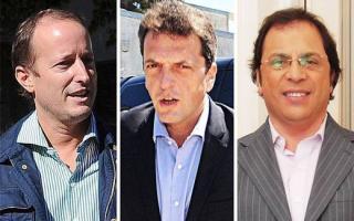 Insaurralde, Massa y Giustozzi dejaron sus cargos para asumir como diputados nacionales.