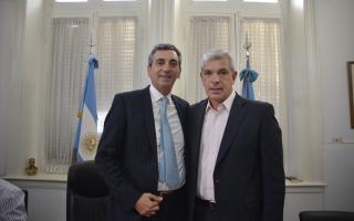 Randazzo y Domínguez inauguraron el servicio en Chacabuco.