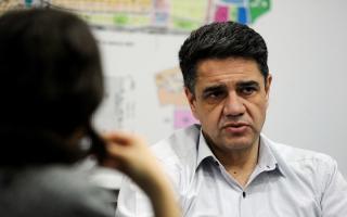 Jorge Macri recordó a su tío Franco Macri.