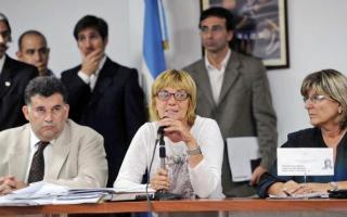 La diputada oficialista, Adela Segarra, preside la Comisión de Juicio Político.