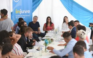 Villa Gesell: Relanzaron el Instituto nacional de la Juventud