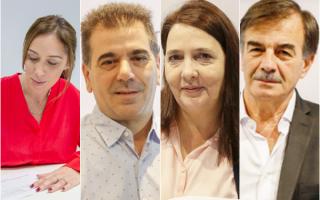 La lista de candidatos a diputados nacionales de la fórmula Vidal - Salvador