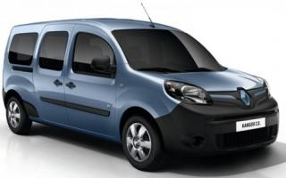 La Kangoo Z.E. sería el primer auto eléctrico en comercializarse en Argentina