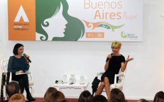 """Karina Rabolini inauguró el espacio """"Buenos Aires de Mujer"""" con el encuentro """"Charla de Mujeres"""""""