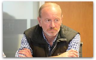 Carlos Katz informó sobre la proximidad de la licitación. Foto: Municipalidad de Balcarce