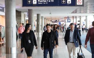 Kicillof en viaje a Israel habló de la deuda de la provincia.