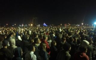 Una multitud estuvo presente en el show. Foto: Diego Bustos
