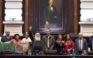La actividad fue organizada por la diputada del Frente para la Victoria Patricia Cubría.