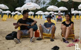 """Lanús inauguró su """"playa"""" para disfrutar el verano"""
