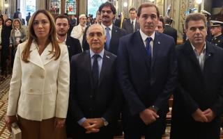 Tedeum en La Plata con Vidal y Garro: (Foto: Scarsi)