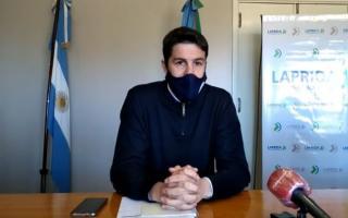 El secretario de Hacienda, Fernando Vecini, formuló el anuncio.