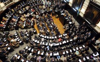 Juran los diputados y senadores de la Provincia.