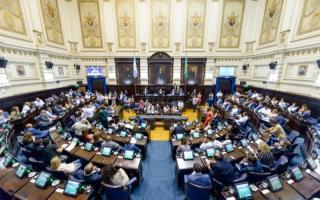 Legisladores del Frente de Todos buscan concientizar sobre la violencia