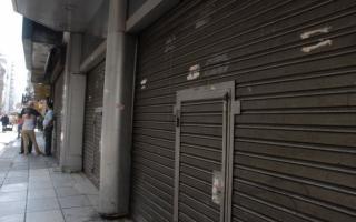 Aumentó la cantidad de locales vacíos en La Plata (Imagen ilustrativa)