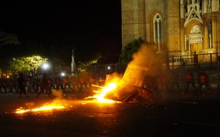 """Pese a destrozos y heridas, para el arzobispo de La Plata el Encuentro de Mujeres fue """"más pacifico que los anteriores"""""""