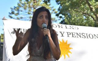 Luana Volnovich es diputada nacional por Buenos Aires