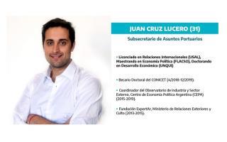 Juan Cruz Lucero asumió en Asuntos Portuarios
