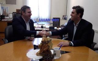 Oscar Luciani y Leonardo Boto (Luján hoy)