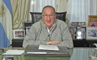 Miguel Lunghi comunicó la novedad a su ciudadania